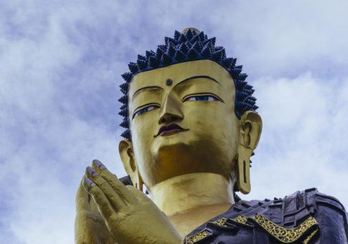 Gautama Buddha statue. Image credit: Subhrajyoti07 via Wikimedia Commons