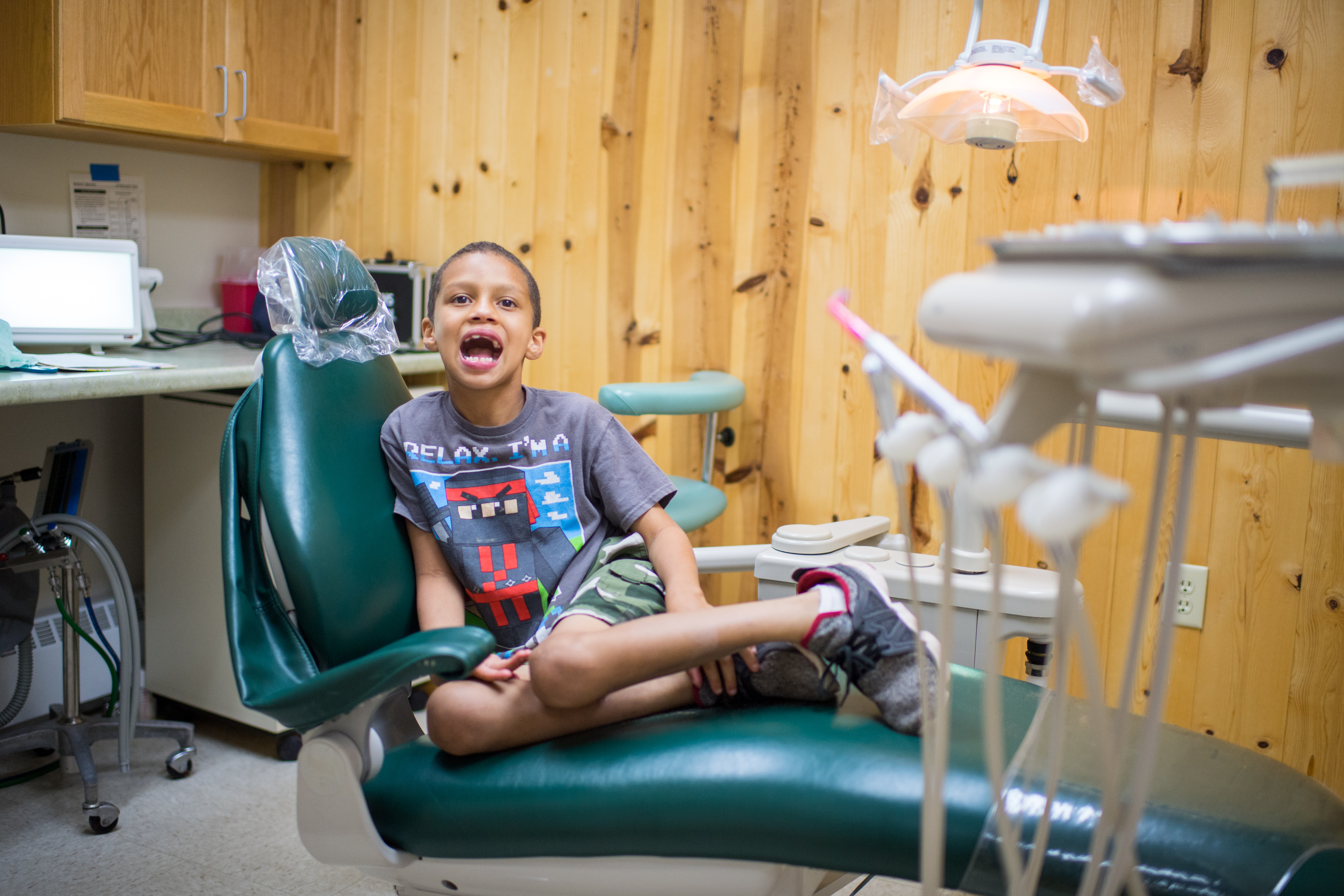 U-M students provide free dental care to special needs campers in