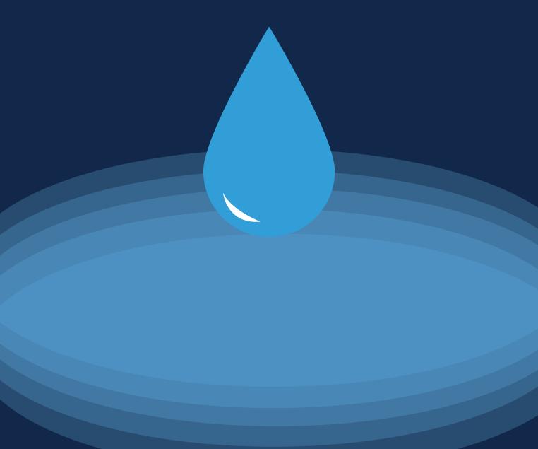 Concept illustration of drinking water. Illustration credit: Katie Beukema