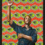Kehinde Wiley, On Top of the World, 2008, oil on canvas. Image courtesy: Aishti Foundation, Beirut © Kehinde Wiley