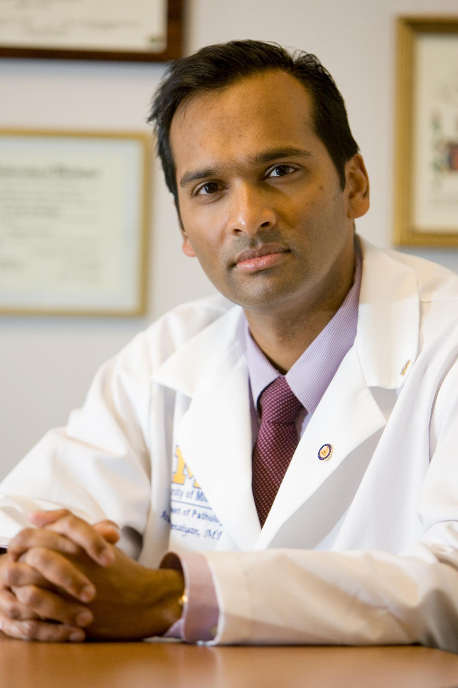 Dr. Arul Chinnaiyan.