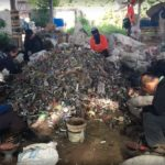 Some e-waste recyclers focus on taking fans apart in Thailand, separating metal and plastic components for resale. Images credit: Exposure Research Lab