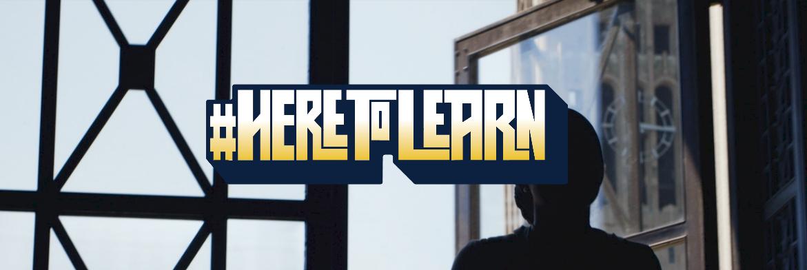 #HereToLearn