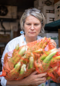 Kathy Sample, co-owner of Argus Farm Shop. Image credit: Michigan Photography