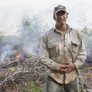 U-M ecologist and biogeochemist Luke Nave. The burn plots at the U-M Biological Station allow researchers to address critical questions about climate change and the long-term storage of carbon in forests and their soils, Nave said.