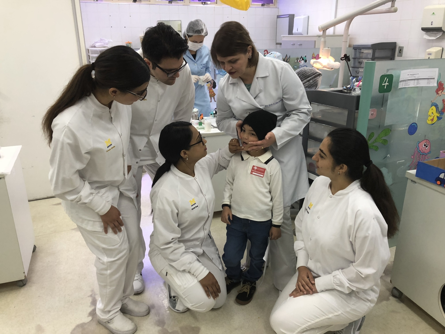 Improving oral health care: U-M dental students learn about