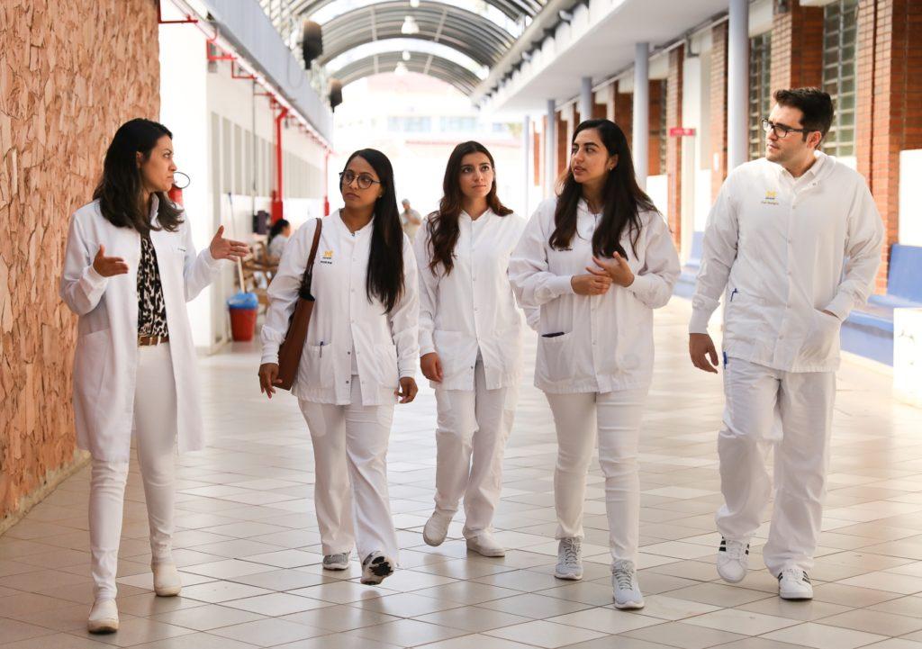 U-M students visit University of Sao Paulo, in Bauru.