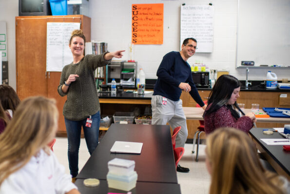 """""""What is most important is to see other students succeed,"""" says PhD candidate Taylor Nye."""