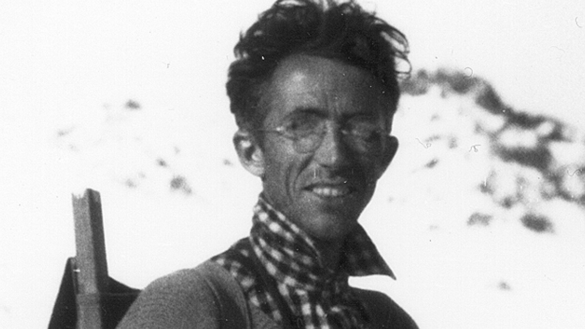Wildlife biologist and wilderness advocate Adolph Murie. He received a doctorate from the University of Michigan in 1929 before starting a long career at the National Park Service. A copy of his 1935 report on Isle Royale is in the correspondence files of the U-M Museum of Zoology's mammal collections. Photo courtesy of the National Park Service.