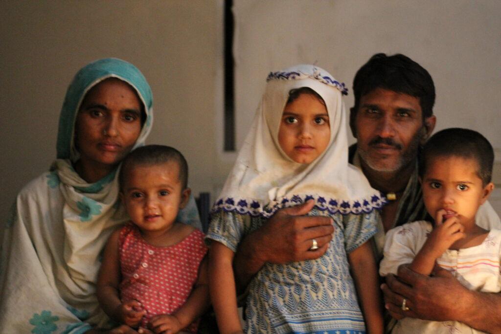 Pakistani family. Image credit: Abdullah Kharal