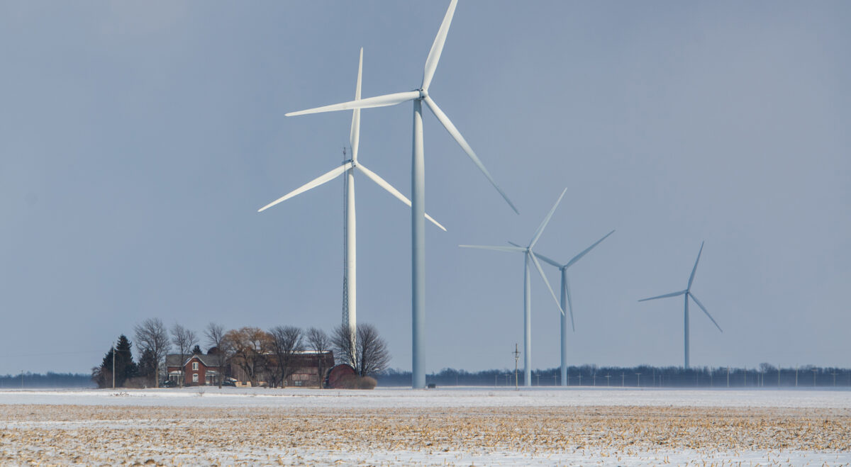 The Chandler turbines helped spur a 4,400% increase in tax revenues. Image credit: Eric Bronson, Michigan Photography