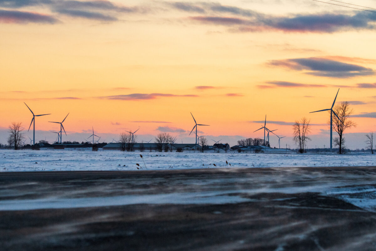 Renewable energy will generate billions for local communities. Image credit: Eric Bronson, Michigan Photography