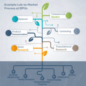 Example Lab-to-Market Process at IEPUs