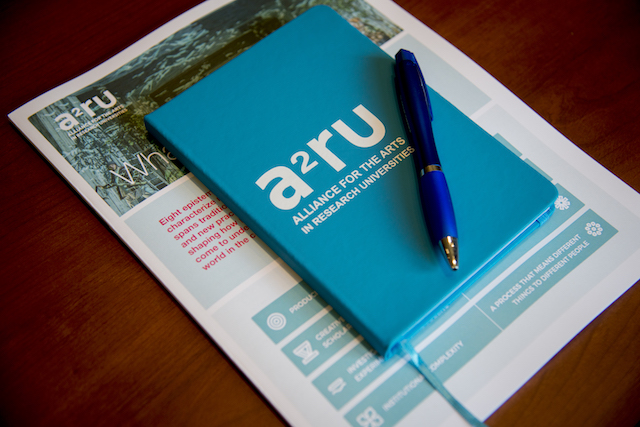 The Alliance for the Arts in Research Universities notebook