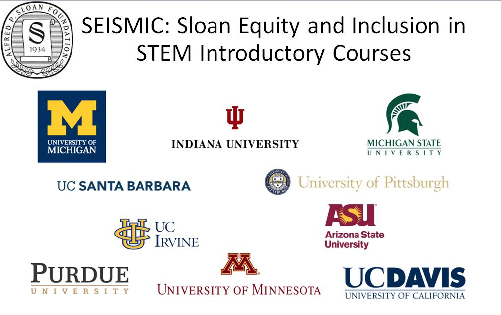 SEISMIC is represented by 10 large public institutions across the country.