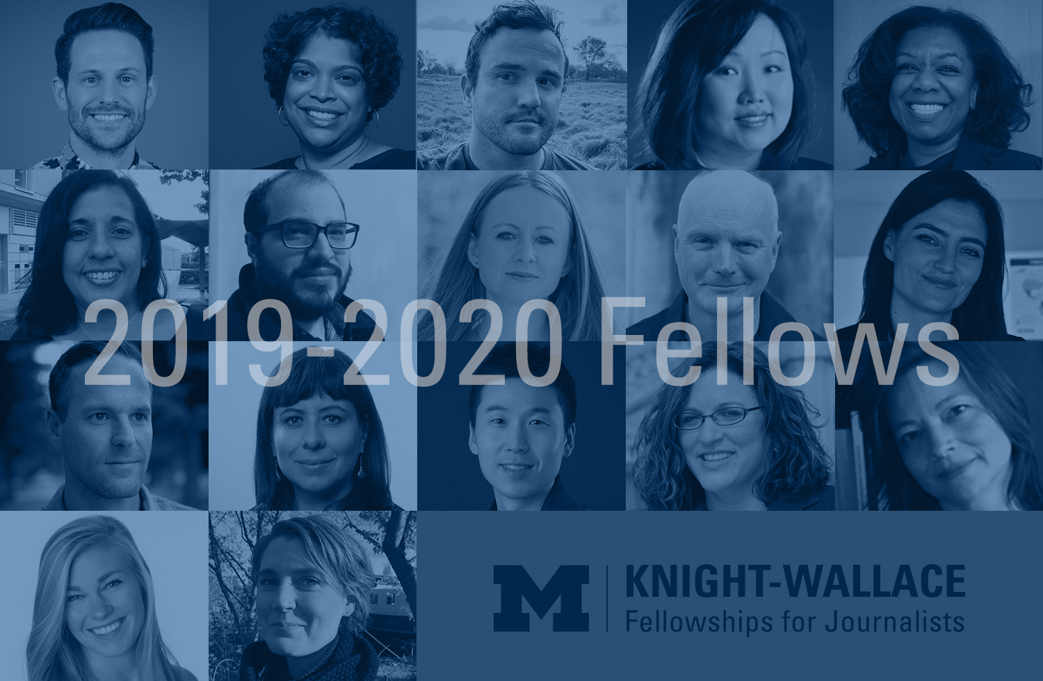 2019-2020 Knight Wallace Fellows