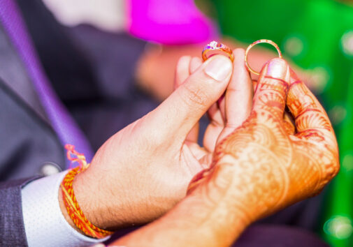Indian wedding rings. Image credit: iStock