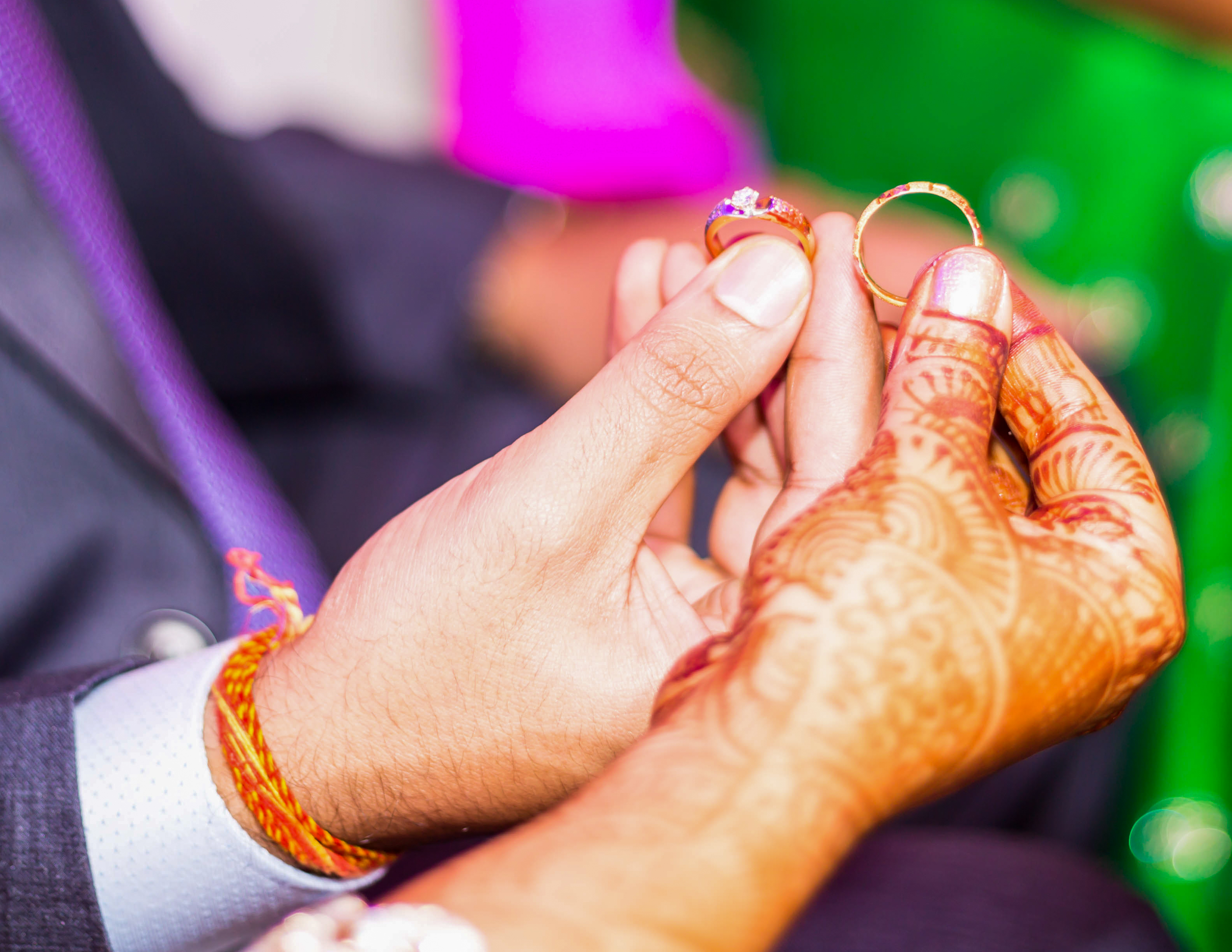 Indian wedding rings. Image credit: iStock