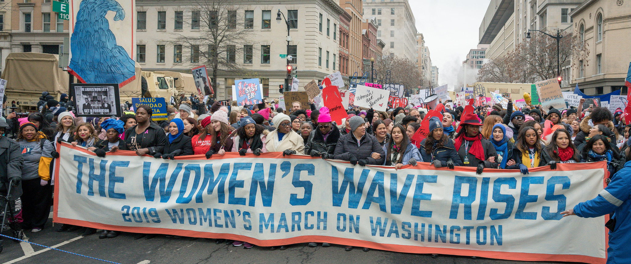 D.C. Women's March 2019. Image credit: Mobilus In Mobili on Flickr