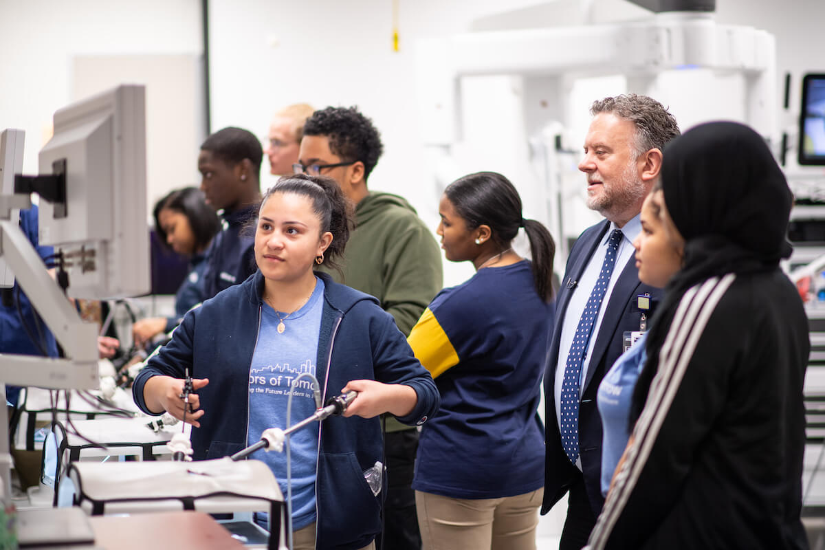 Future physicians: U-M program provides hands-on training to