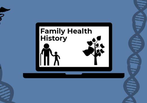 Illustration of family health history. Illustration credit: Ilma Bilic