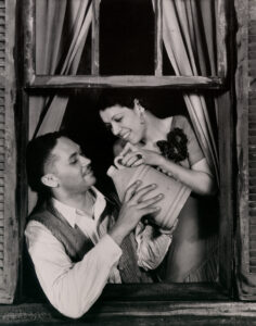 Todd Duncan (Porgy) and Anne Brown (Bess), 1935. Photo courtesy the Ira & Leonore Gershwin Trusts