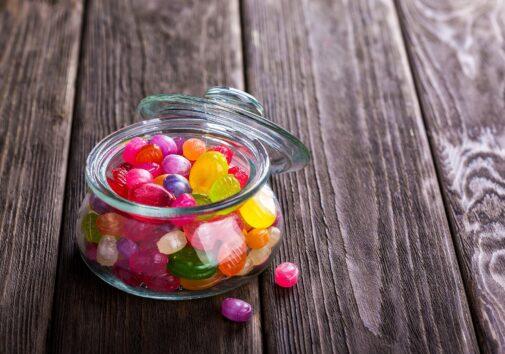 A bowl of candy. Image courtesy Pixabay user, Daria-Yakovleva