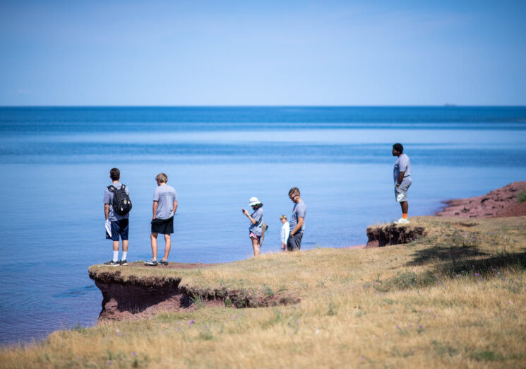 The University of Michigan's Earth Camp included a summer field experience at Lake Superior.