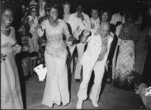 One of Leo Sarkisian's favorite pastimes was dancing. Bamako, Mali (1960s).