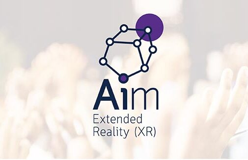 Aim - Extended Reality logo.