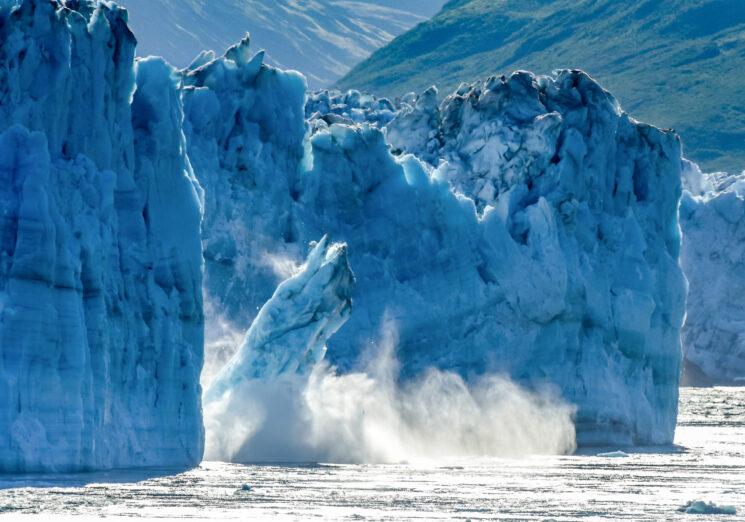 Melting Glacier. Image credit: iStock