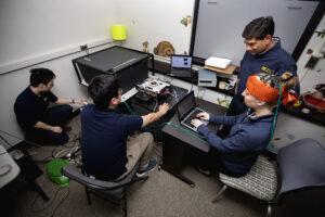 2020 EECS Islam Concussion Detecting Laser. Image credit: Joseph Xu/Michigan Engineering