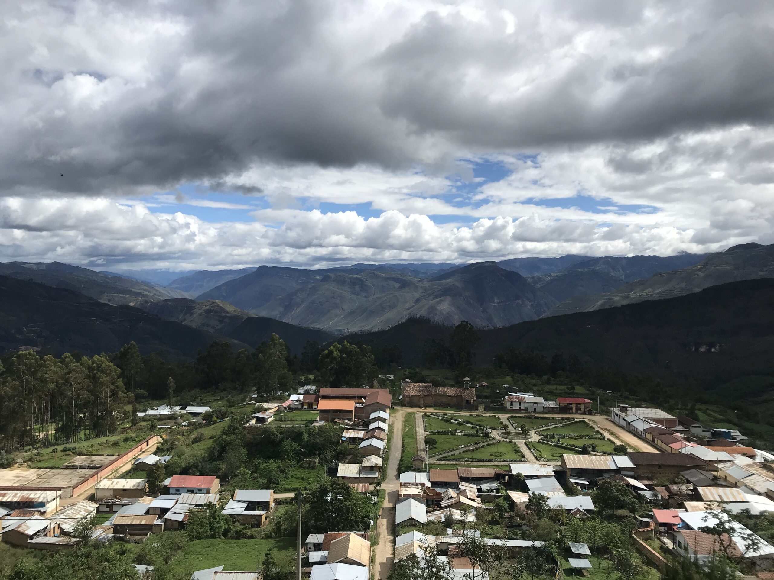Abbey Edwards's community in the Andes mountains, Peru. Image credit: Peace Corps Students