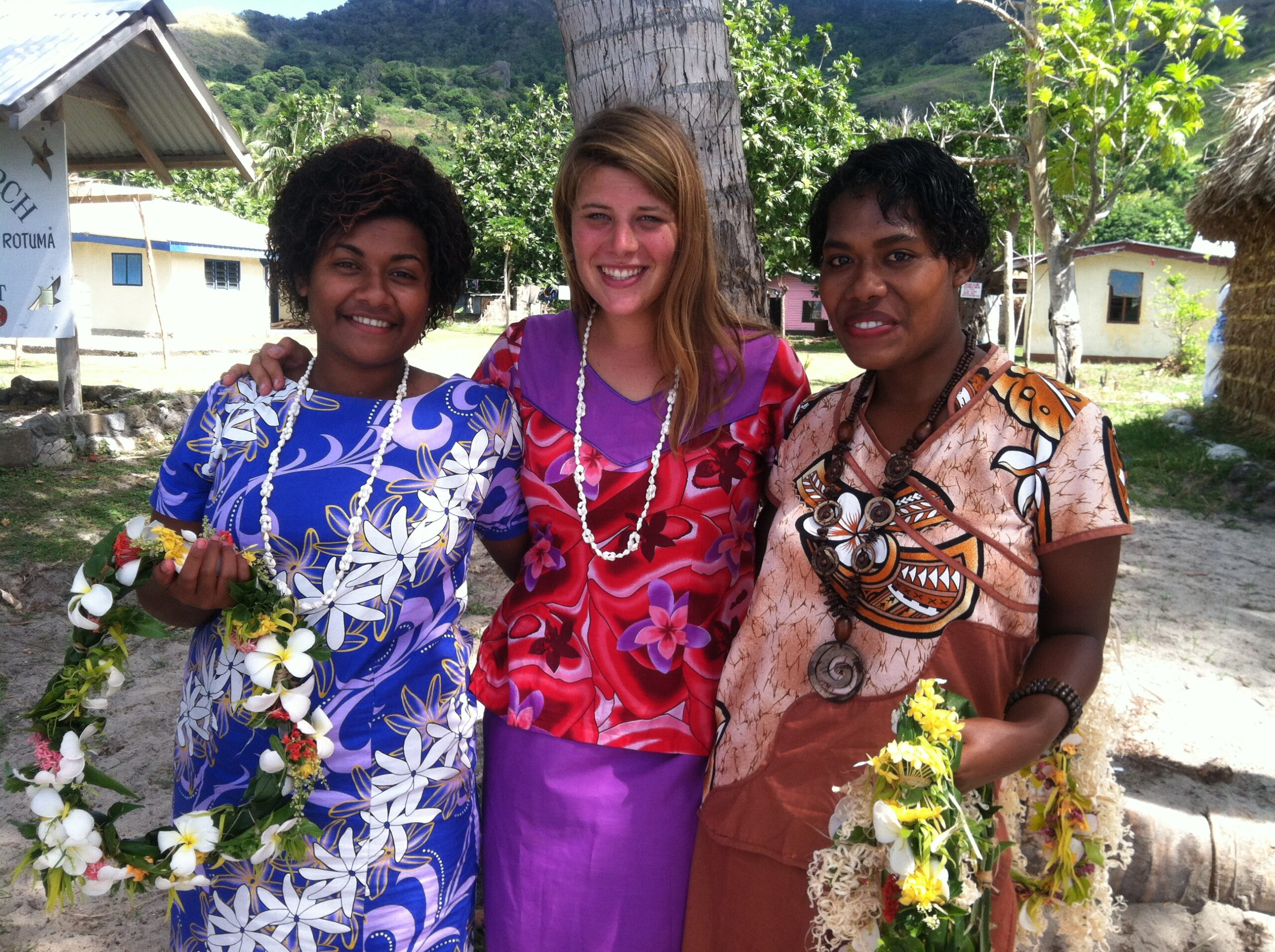 Kline spent 27 months in Fiji as a Peace Corps volunteer. Image credit: Peace Corps Students