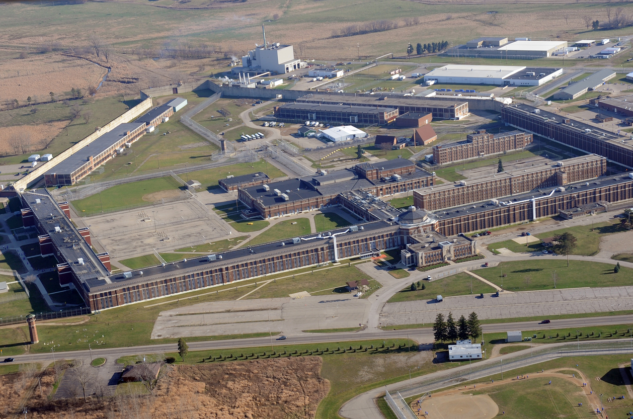 Aerial view of a prison in Jackson, Michigan. Image credit: iStock Photo