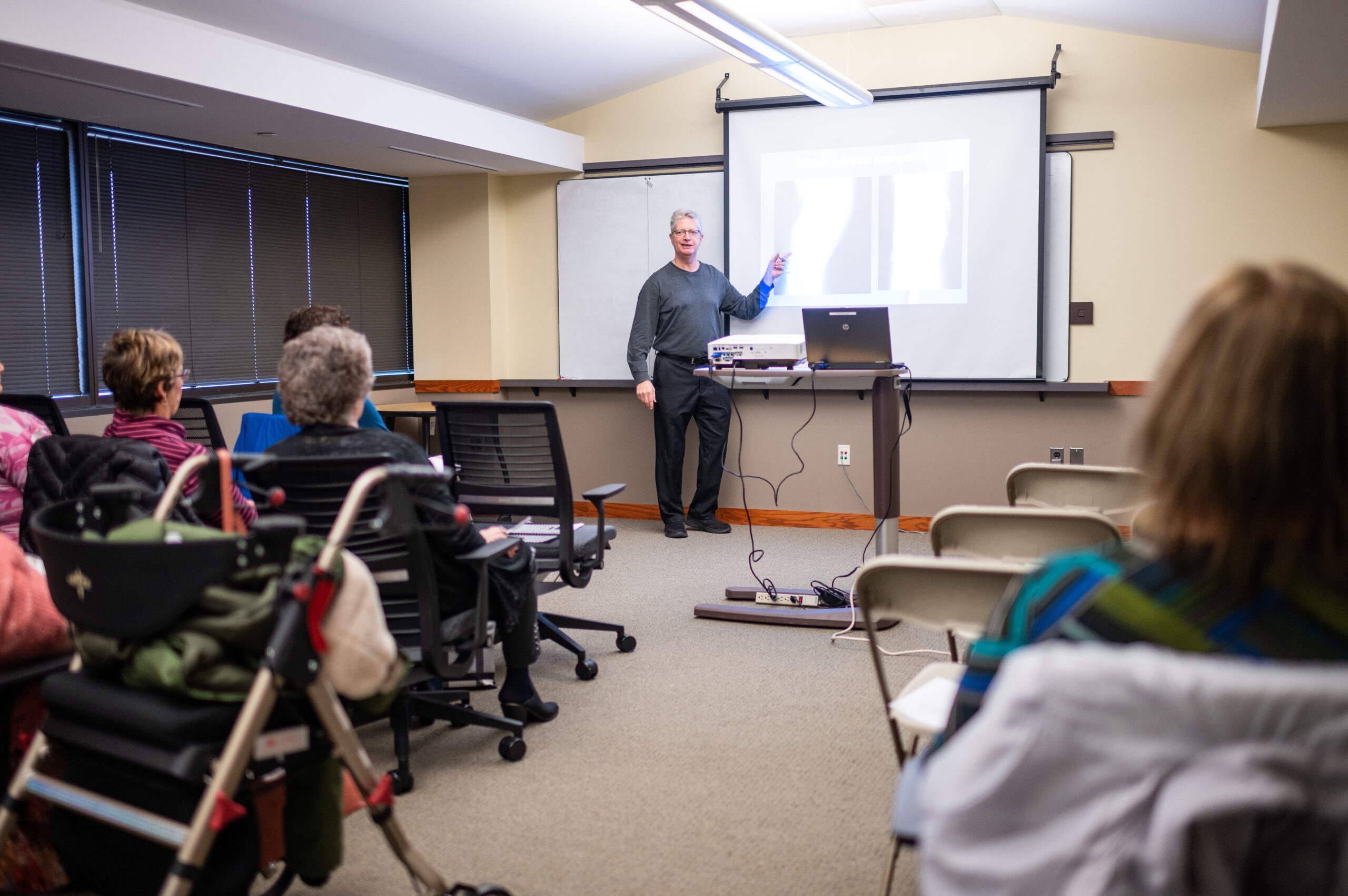 Dan Clauw, director of U-M's Chronic Pain & Fatigue Research Center, where doctors are teaching clinicians a new way of thinking about pain. Image credit: Eric Bronson, Michigan Photography