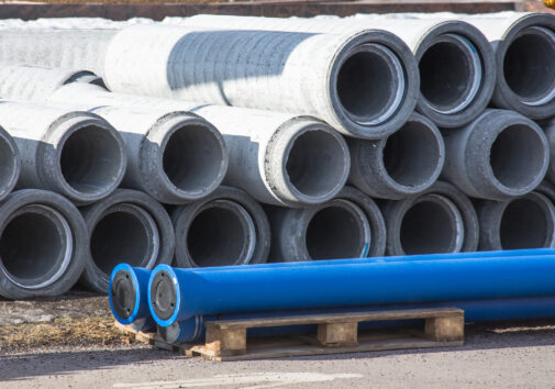 Sewage pipes. Image credit: iStock