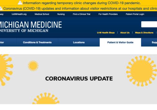Michigan Medicine Coronavirus updates
