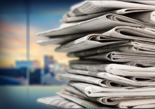A stack of newspapers. iStock photo