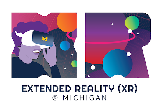 U-M XR initiative logo