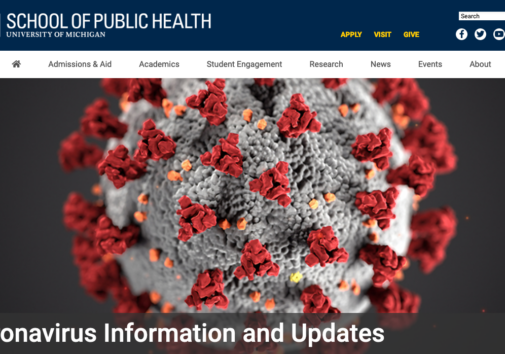 School of Public Health Coronavirus information and updates