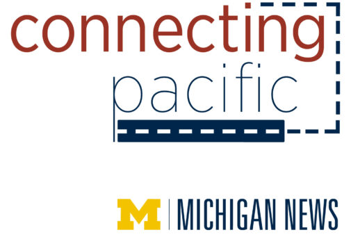 Connecting Pacific podcast logo