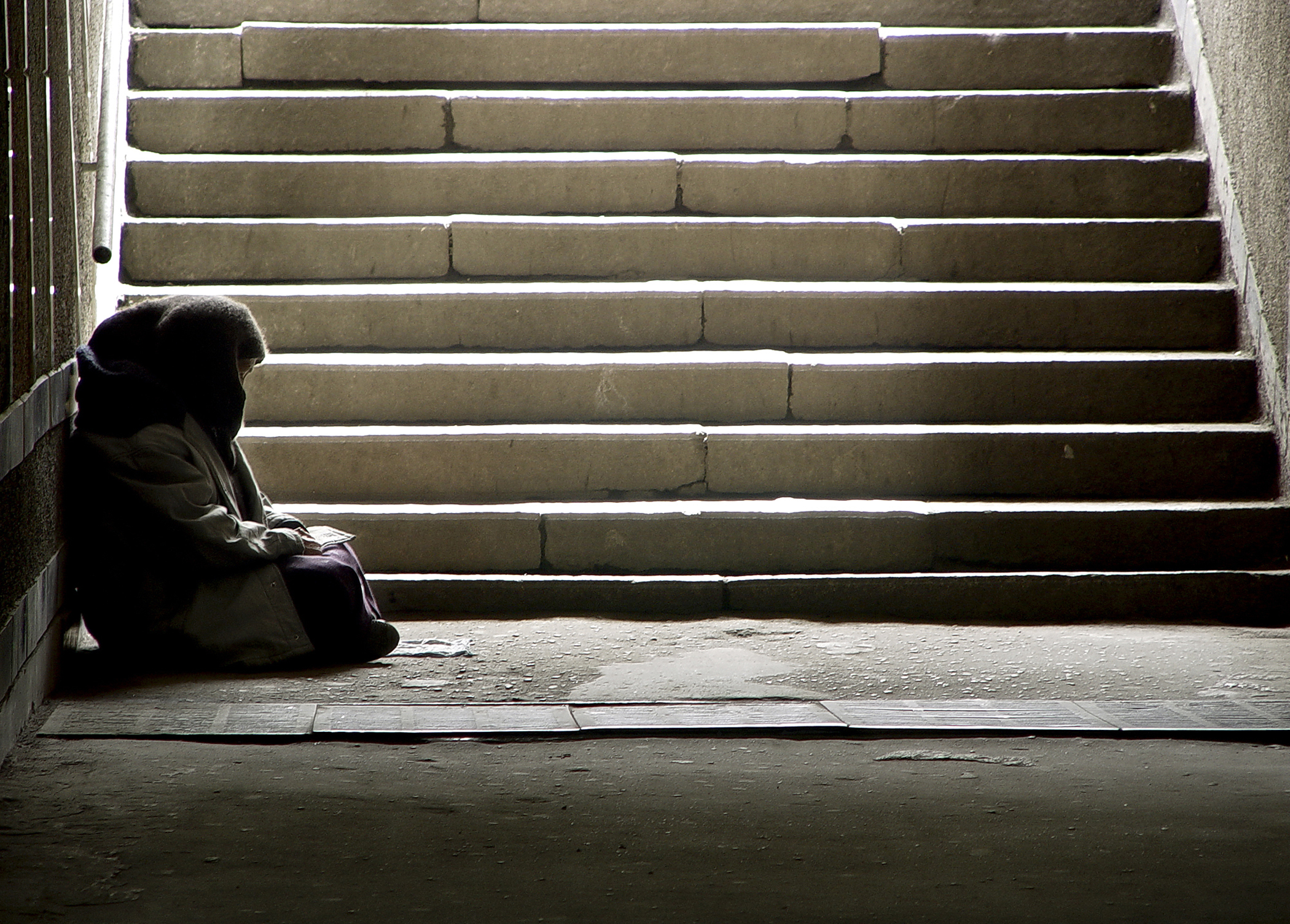 A homeless person. Image credit: iStock