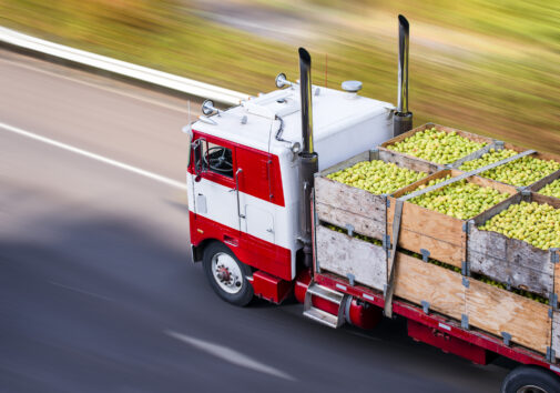 Food delivery truck. Image credit: iStock