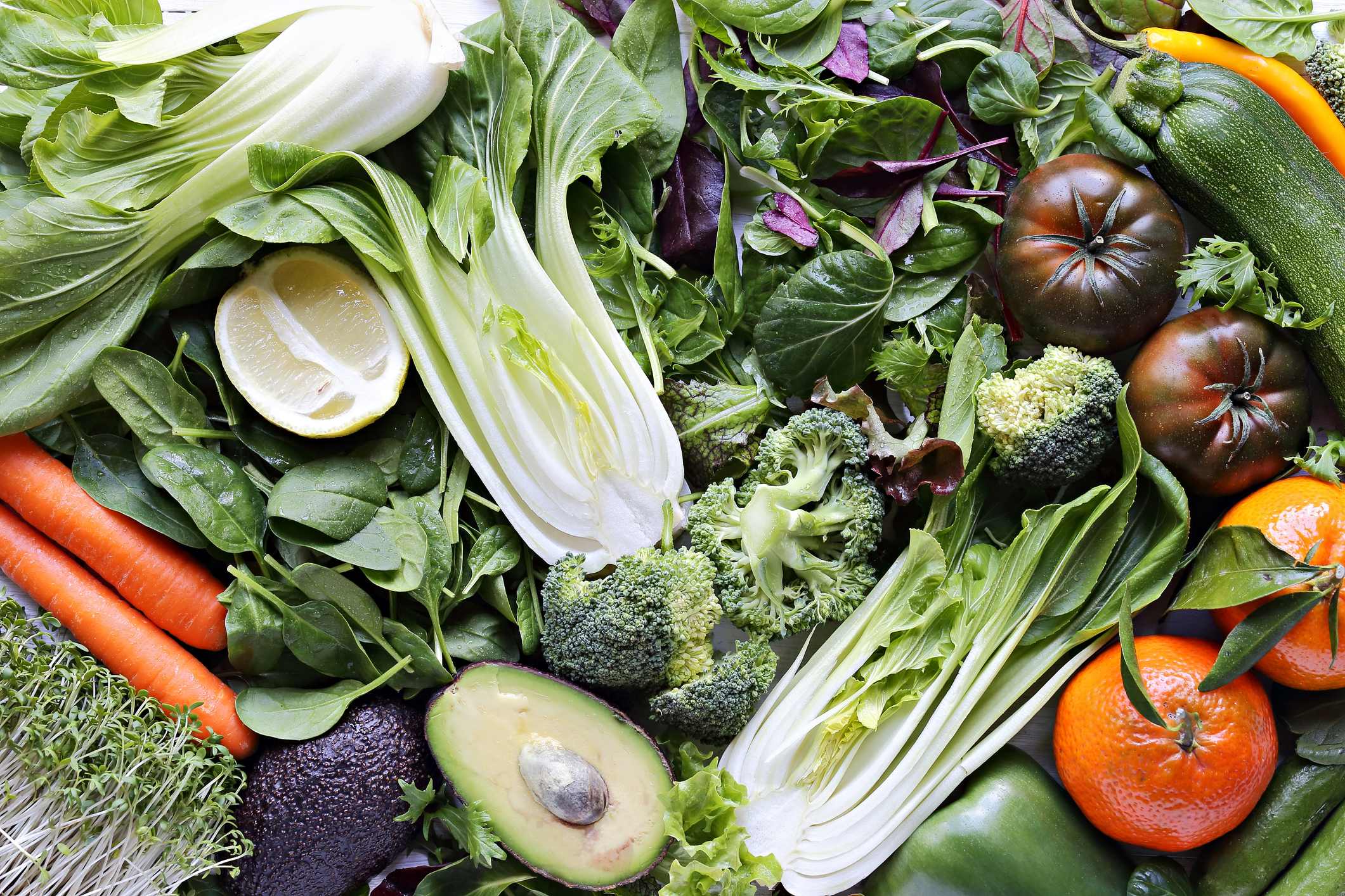 Healthy plant foods. Image credit: iStock