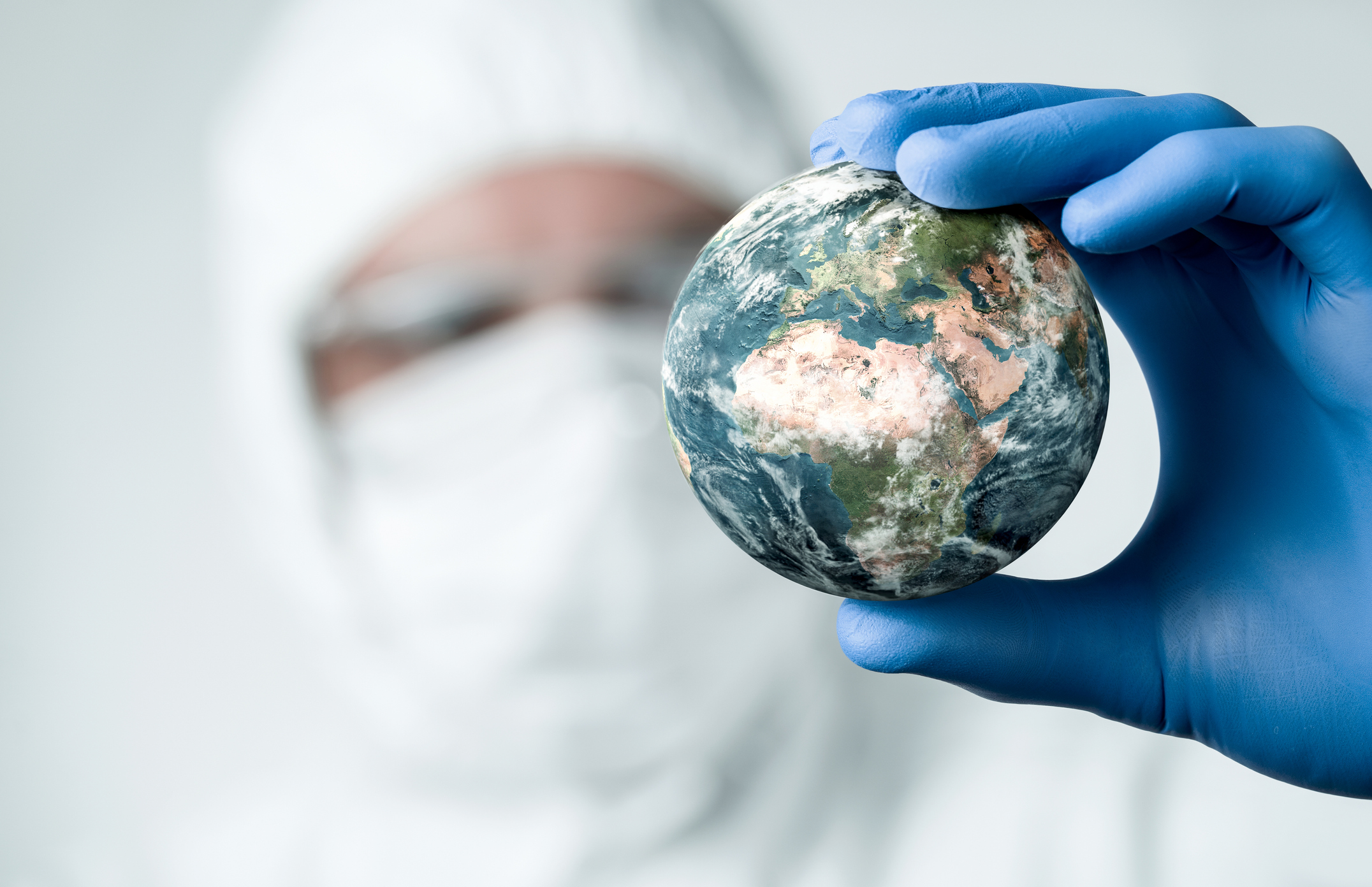 Earth and the environment in the face of pandemic. Image credit: iStock