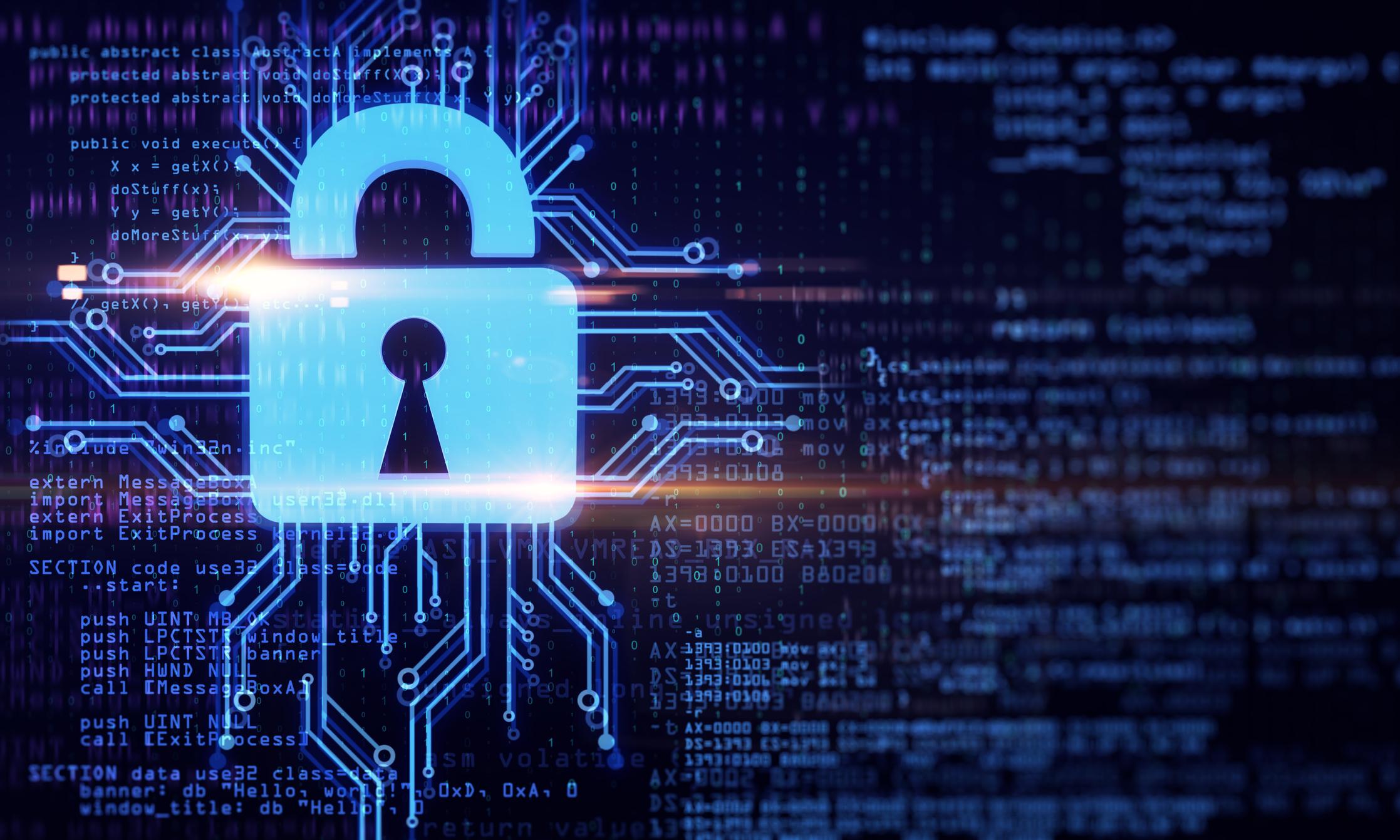 Cybersecurity icon. Image credit: iStock