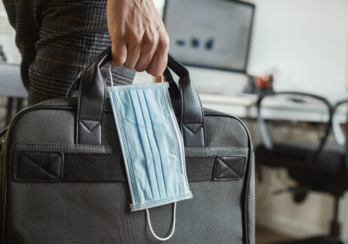 Office reopening with new precautions for COVID-19. Image credit: iStock