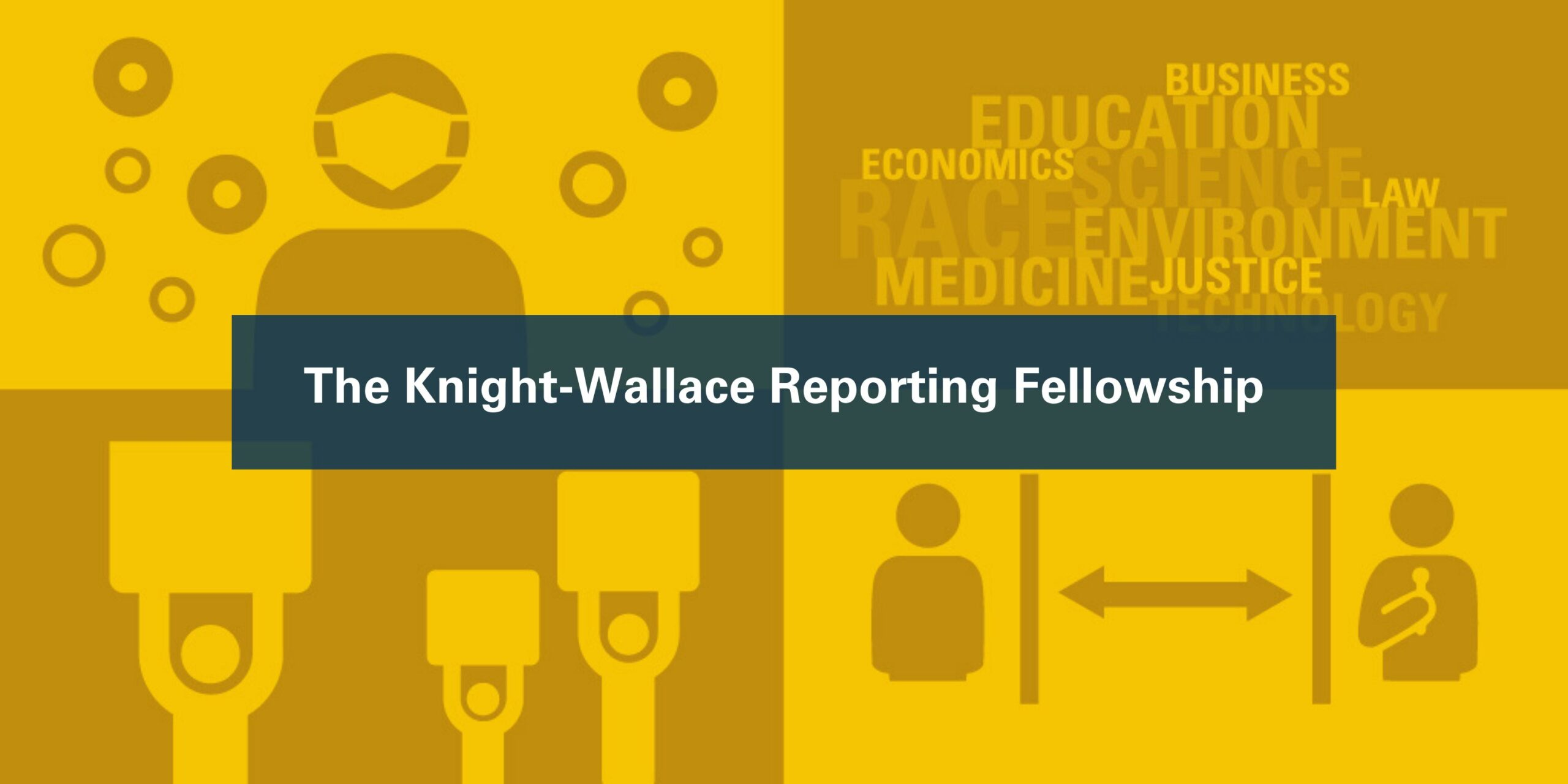 Icons depicting the fellowship. Image credit: Knight-Wallace Fellowships