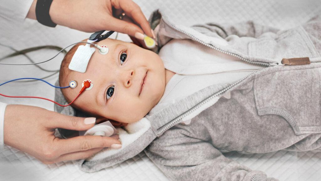 Baby from Netflix docuseries 'Babies'.